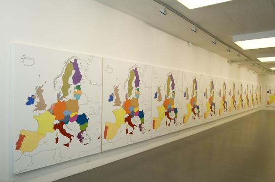 Installation view, Galleri Flach+Thulin, 2009