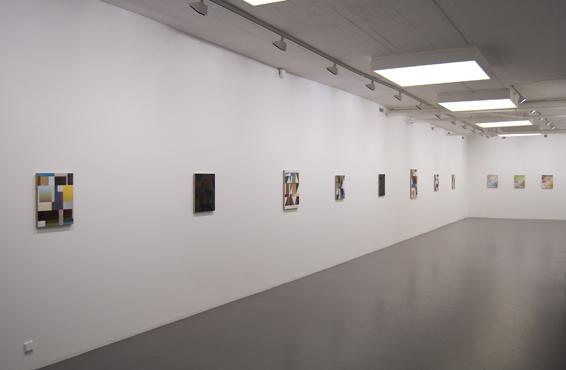 Installation view: Jespler Nyrén, Galleri Flach 2009