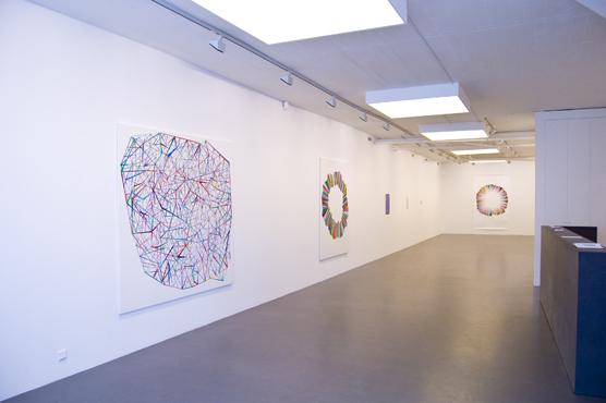 Installation view, Galleri Flach 2010, Patric Larsson