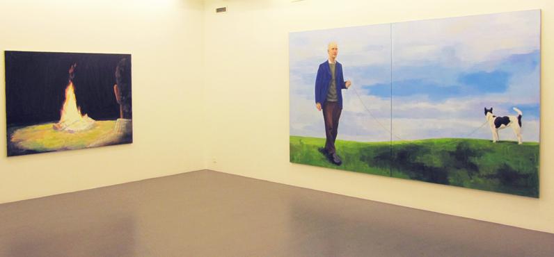 Installation view, Thorbjørn Sørensen, Galleri Flach, 2010