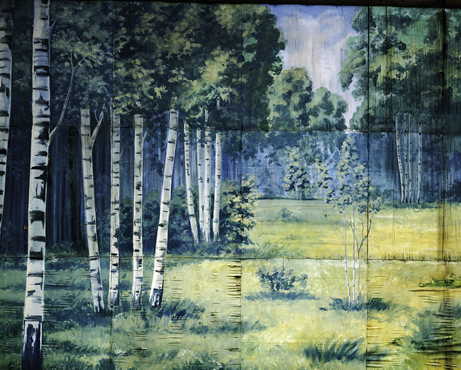 Birch Forest, 2005, Ville Lenkkeri