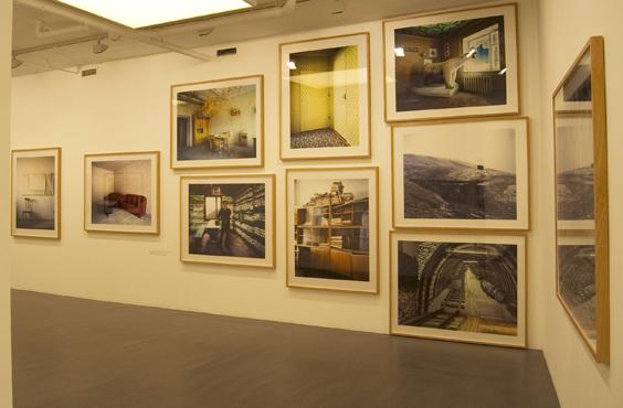 Installation view, 2011, Galleri Flach