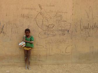 Ce mur m\'intrigue, 2010, Mohamed Camara