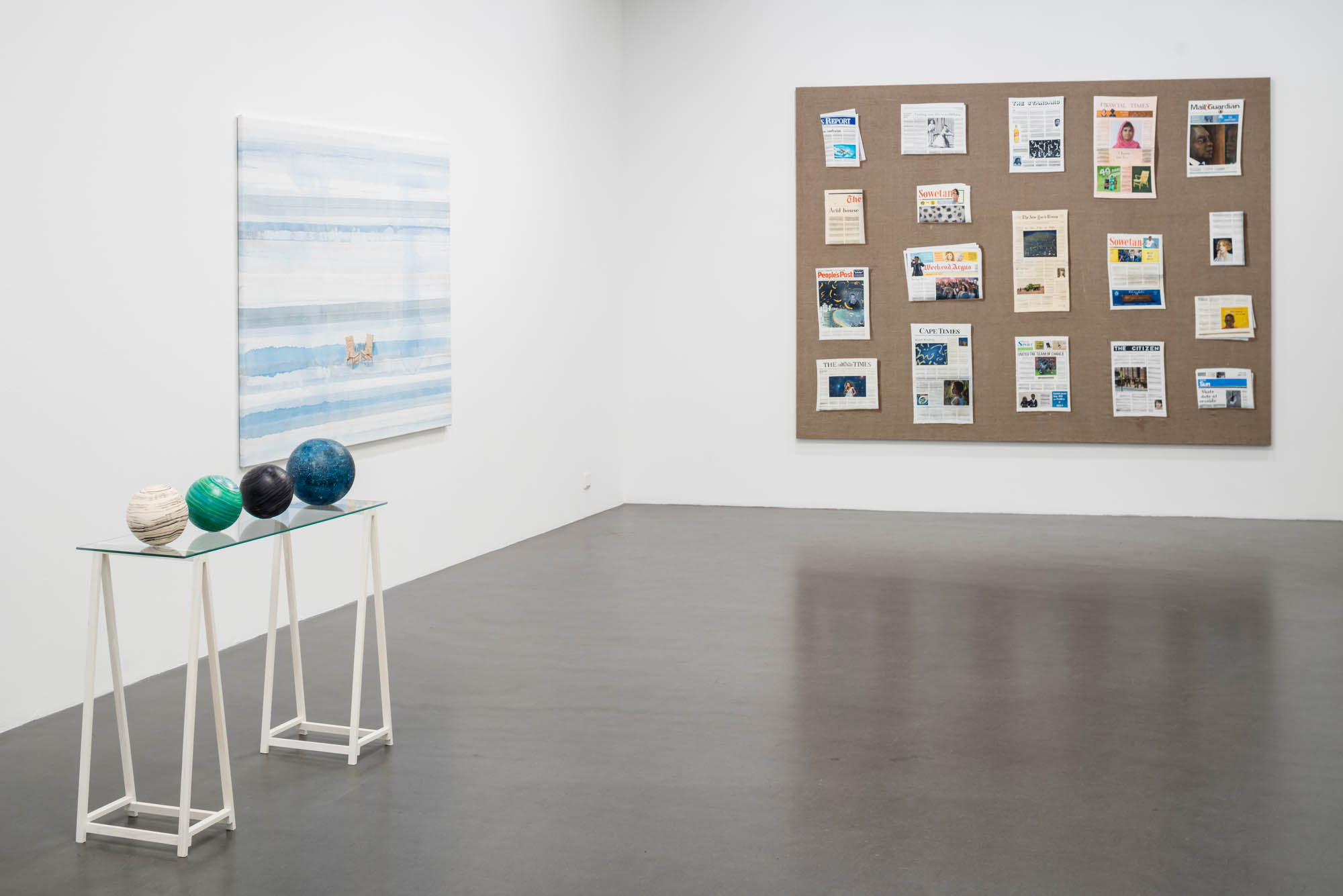 Installation view: Whatever Happens,  2016 Tom Cullberg