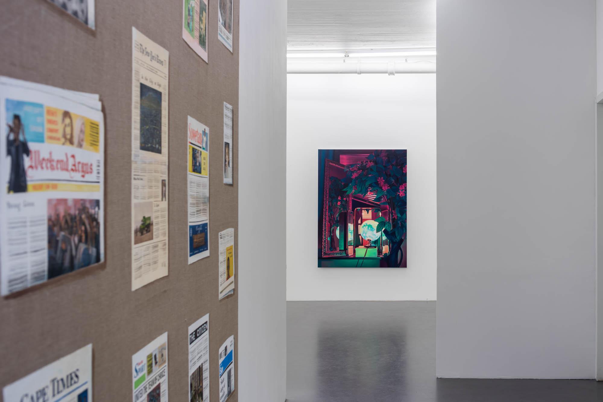 Installation view; Tom cullberg and Pauliina Pietilä, 2016