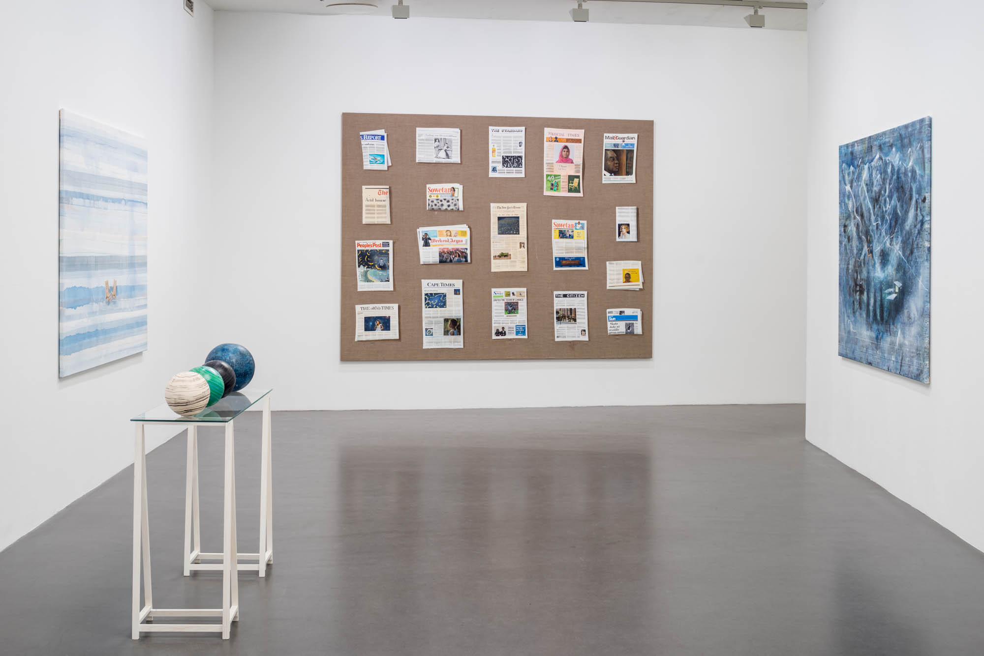 Installation view; Whatever Happens, 2016, Tom Cullberg