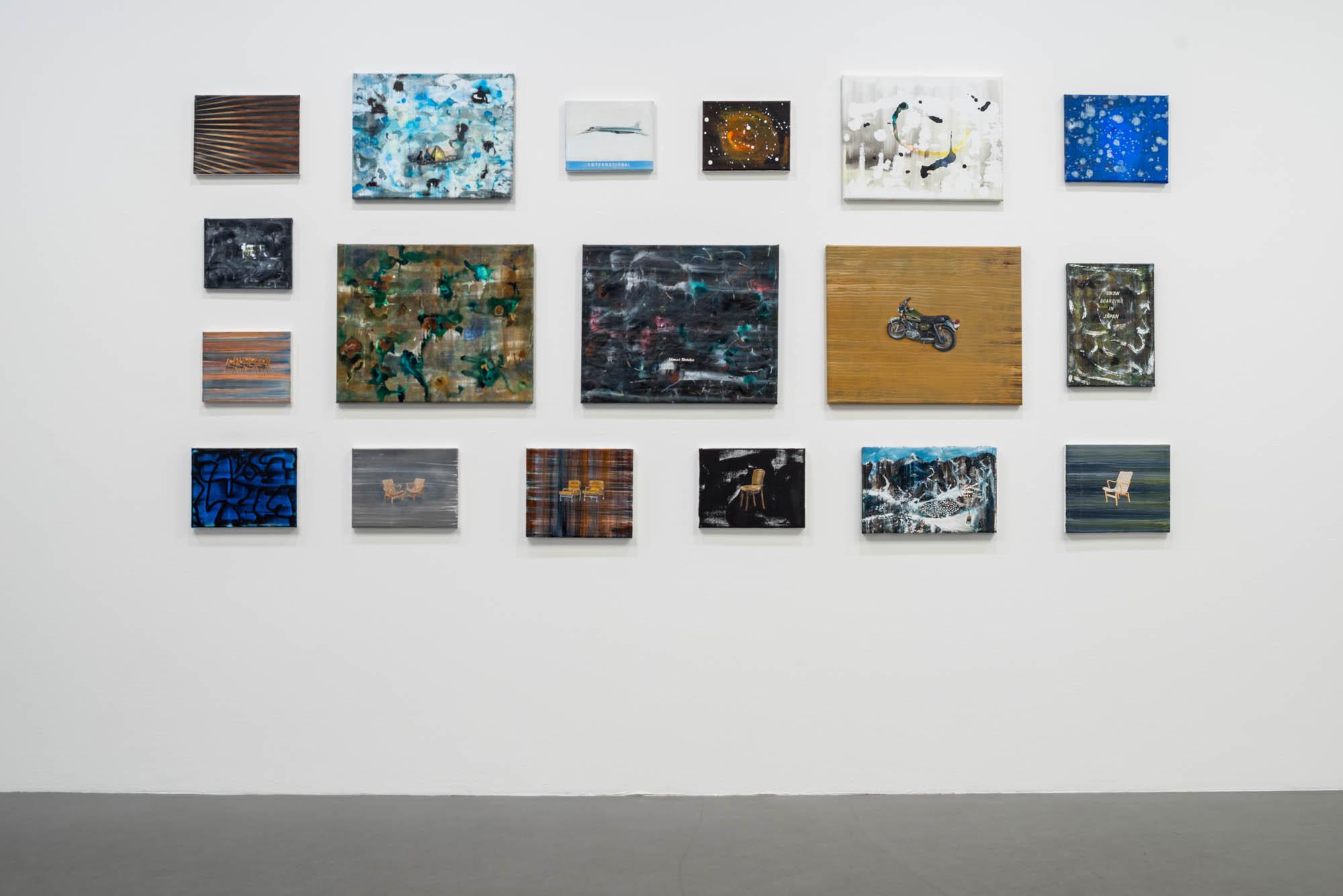 Eighteen paintings, 2016, Tom Cullberg
