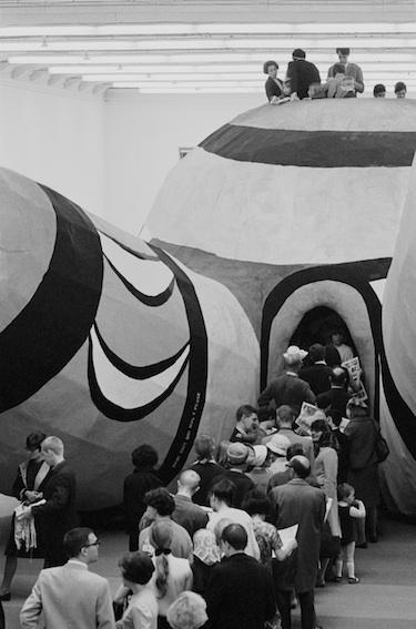 Hon (Niki de Saint Phalle), Moderna Museet 1966, Hans Hammarskiöld