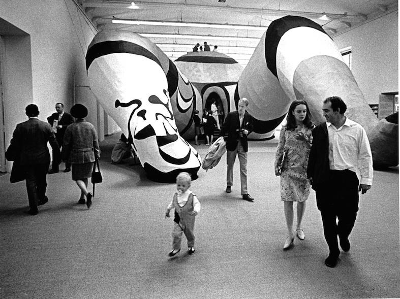 Hon, Tinguely and Niki de Saint Phalle, 1966, Hans Hammarskiold