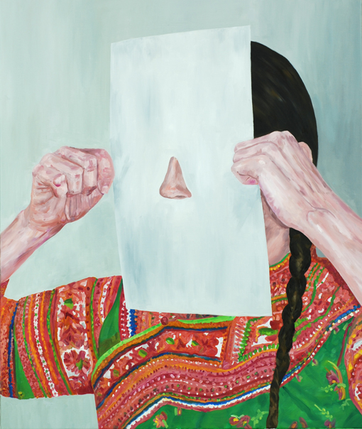 The nose in the paper, 2015, Patric Larsson