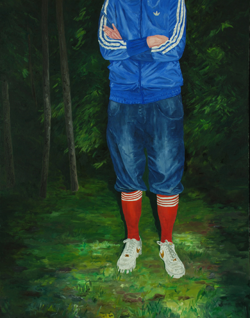 The boy and the sneakers, 2015, Patric Larsson