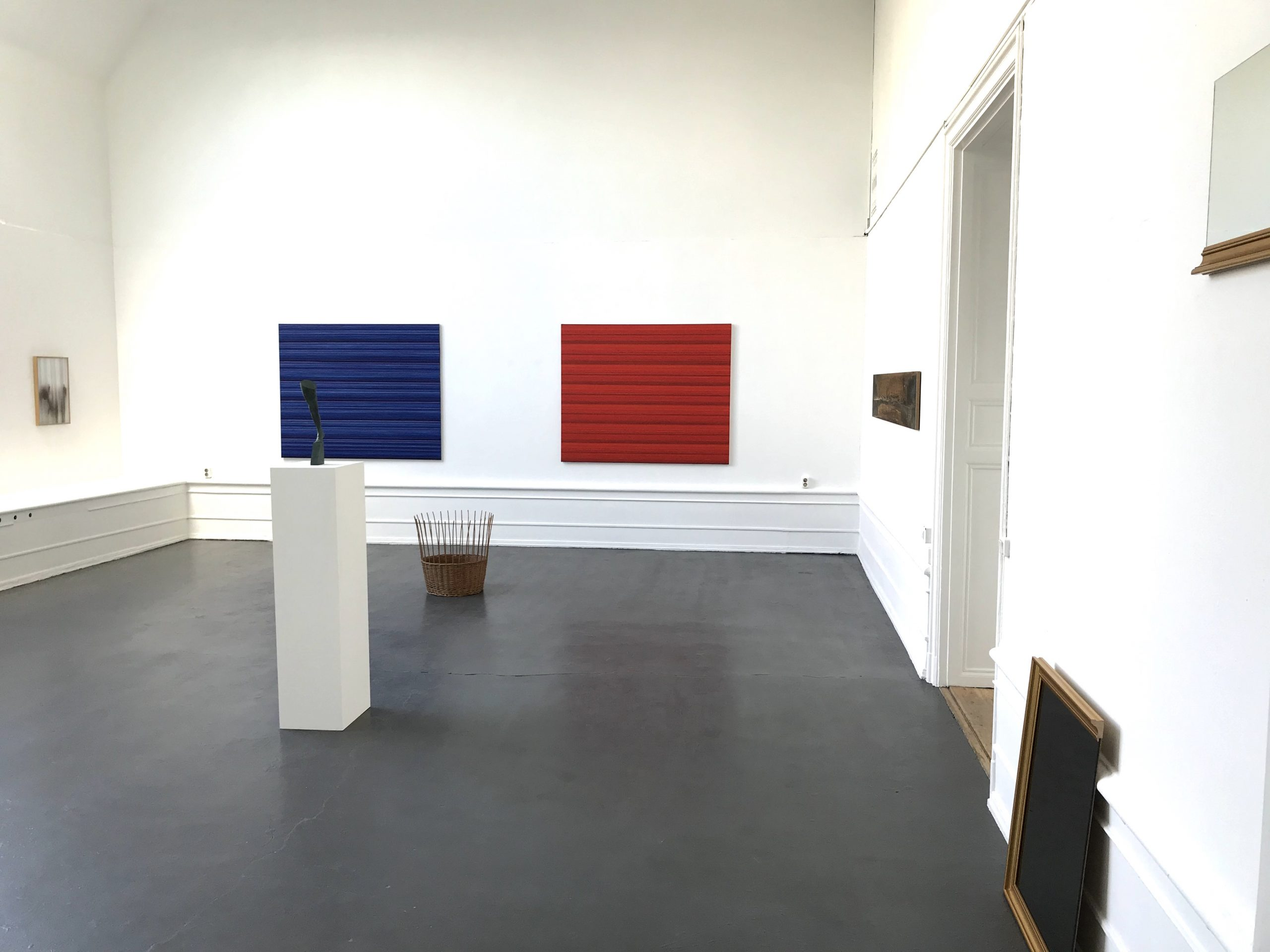Ande och Materia / Mind and Matter, april 2020. Installation view. Fredrik Wretman, Rickard Sollman