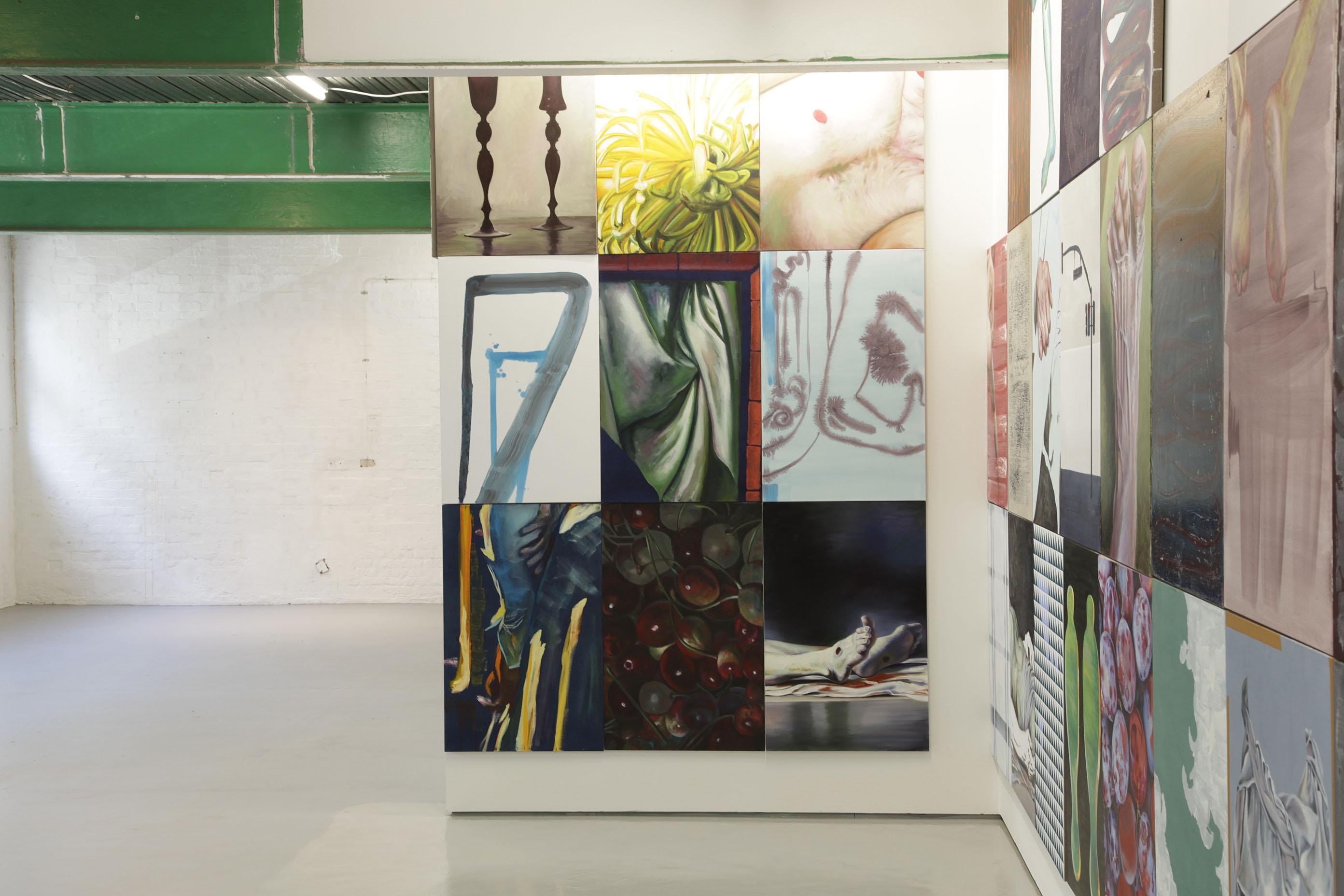 """Installation view: Martin Gustavsson, """"In No Particular Order""""."""