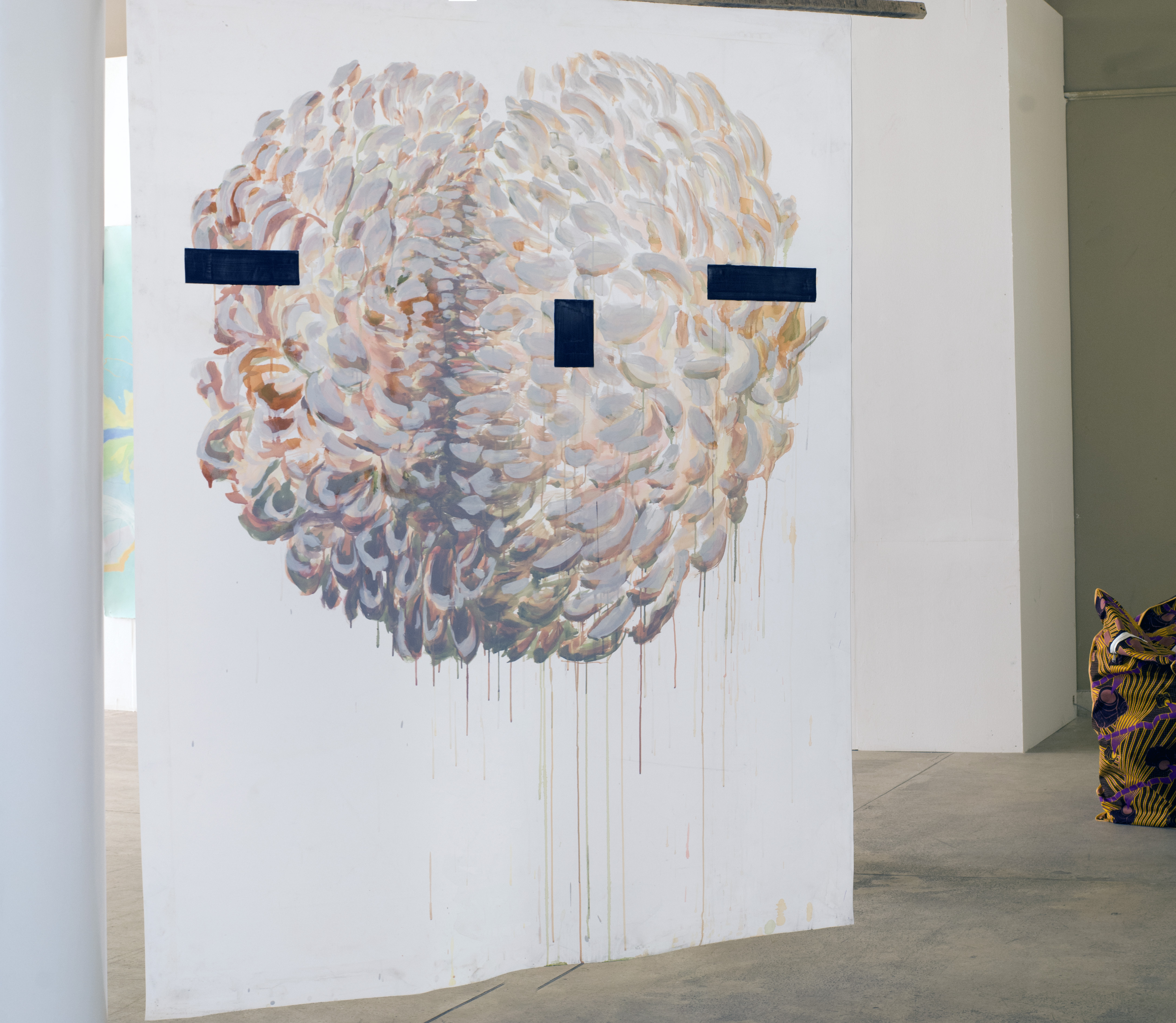 "Installation view: Martin Gustavsson, ""Un Chant Ecarlate"", 2018, from the  exhibition ""The Blue Hour"", Dak'Art biennale 2018. Photo: Karem Ibrahim"