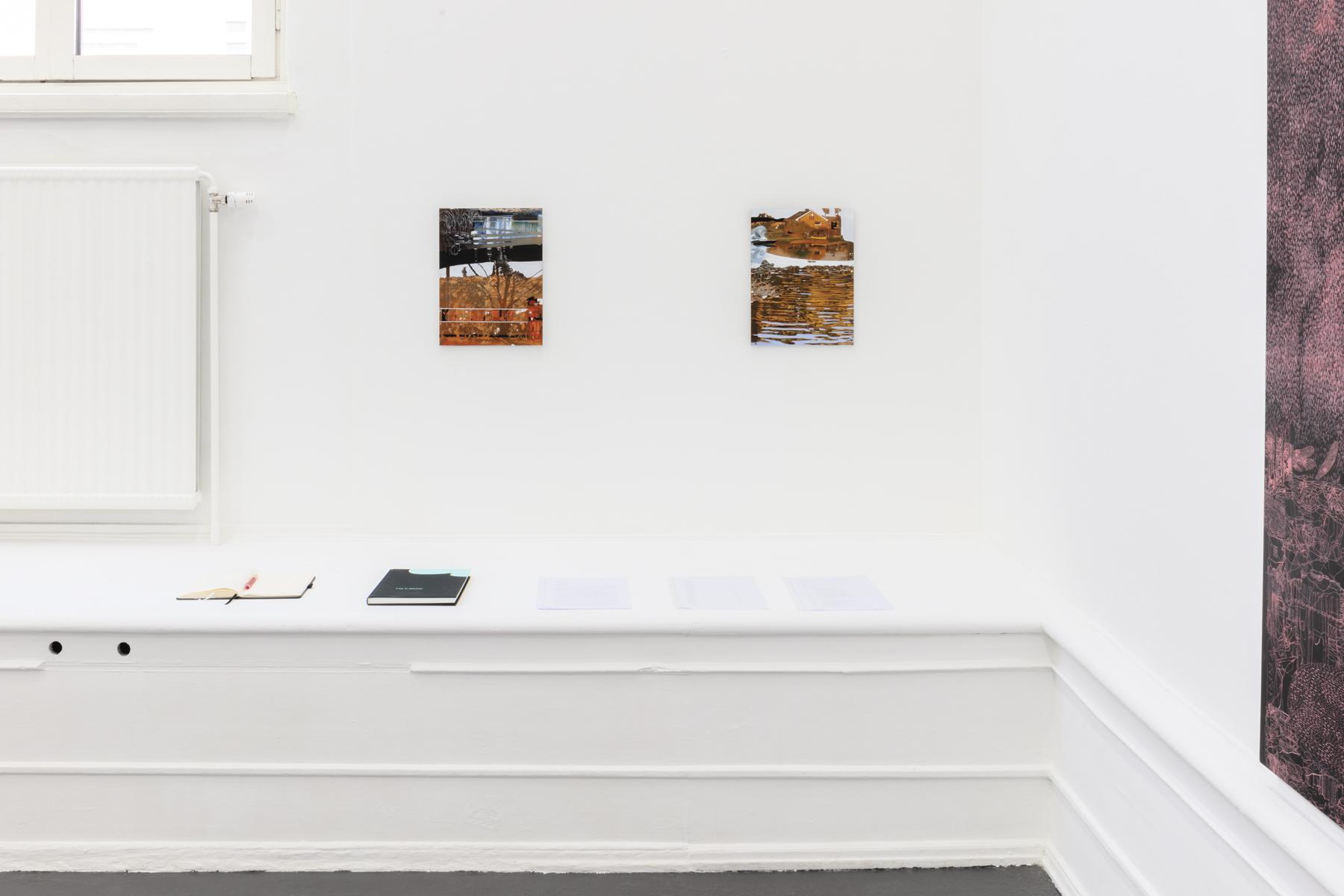 "Lisa D Manner, ""Long Wave"", 2020. Installation view: Wave washed, 2020, Dagsmeja/Middaythwaw, 2020, Galleri Flach"