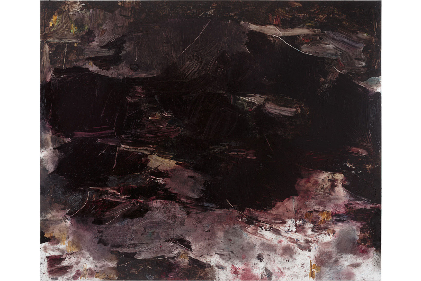 Julia Selin, Untitled, 2014, oil on canvas, 196 x 245 cm