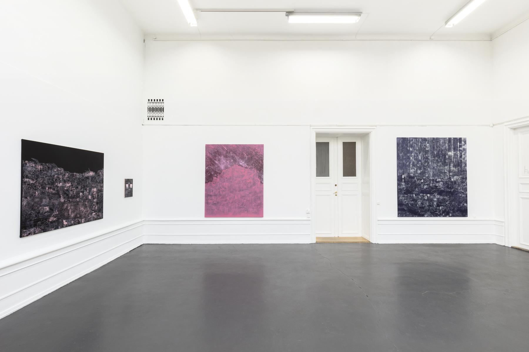"Lisa D Manner, ""Long Wave"", 2020. Galleri Flach"