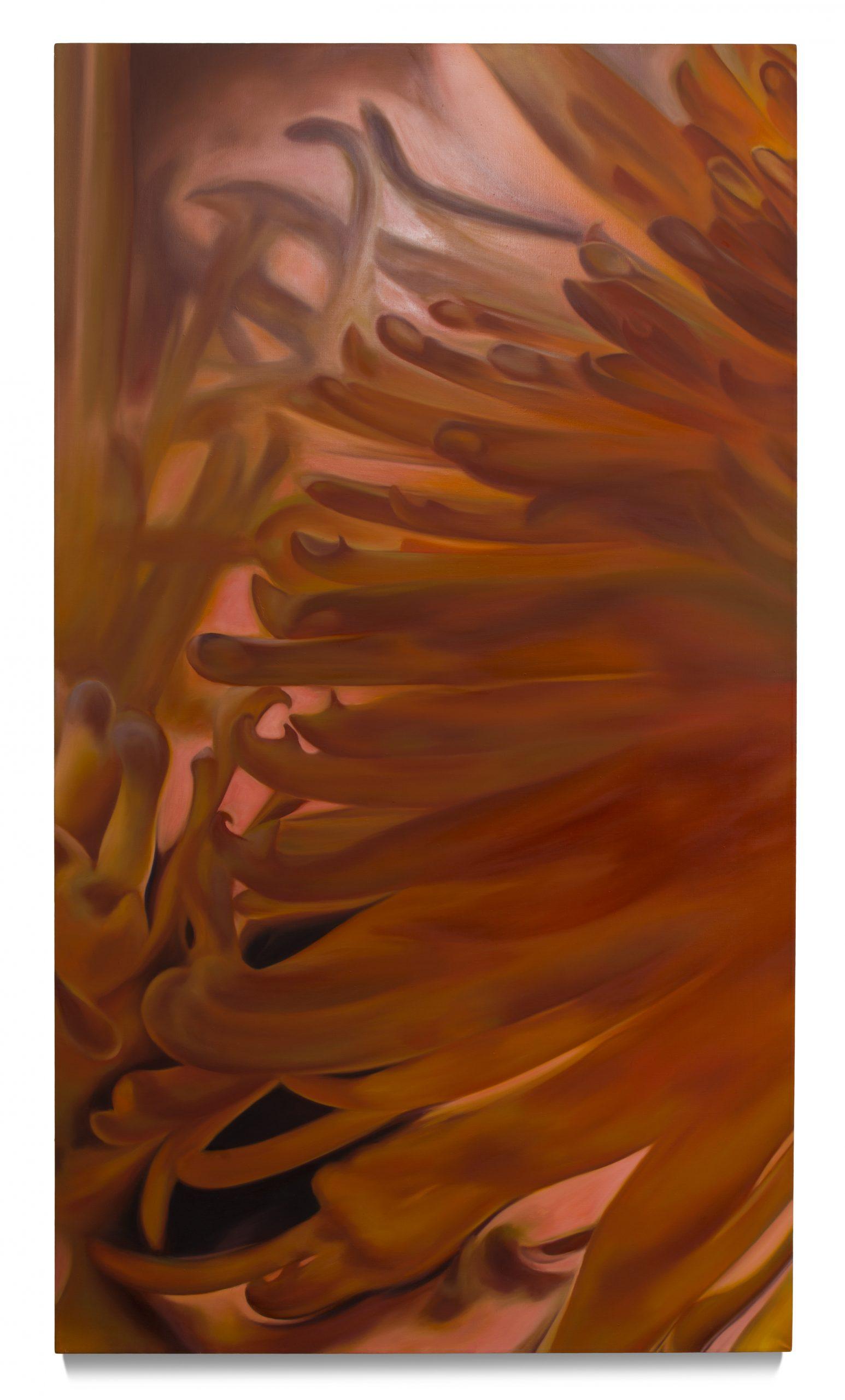 "Martin Gustavsson, ""Daisy Chain, VIV"", 1999. Oil on cavas, 180x101 cm."