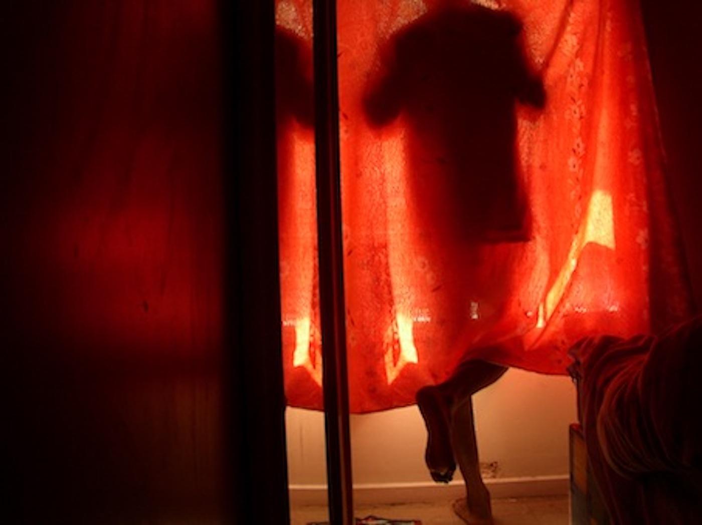 "Mohamed Camara, ""Certains matins, je commence ma journée á la fenêtre"", (Certains Matins) 2006/7, c-print"