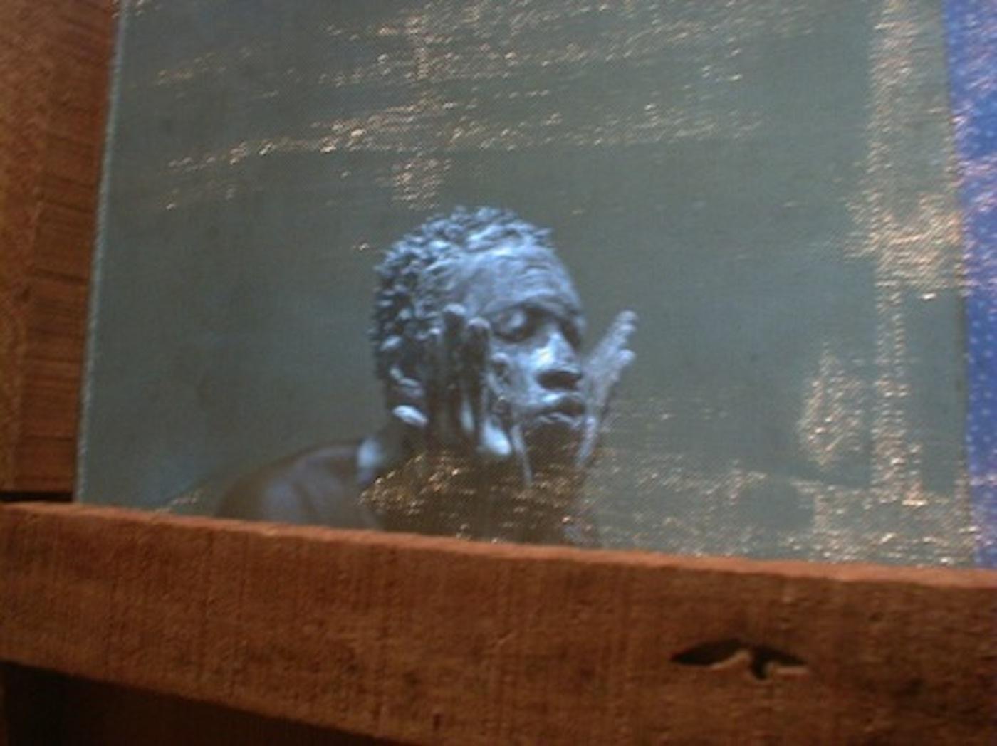 "Mohamed Camara, ""Certains matins, je n'ai pas le courage d'aller á la salle de bain"", 2006/7, c-print, 48 x 58 (framed)"