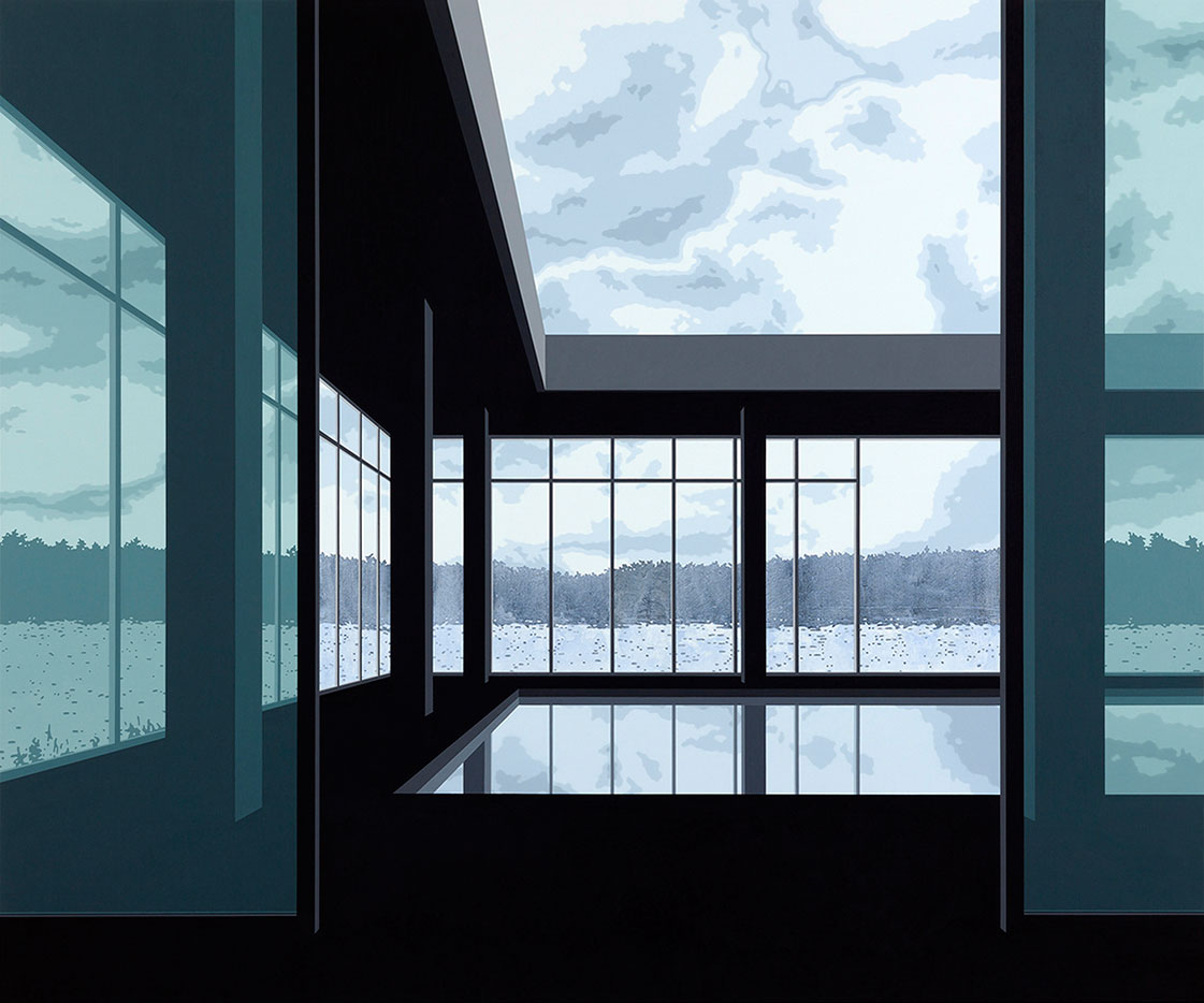 "Henrik Samuelsson, ""Ashes"", 2016. Mixed media on canvas, 200 x 240 cm"