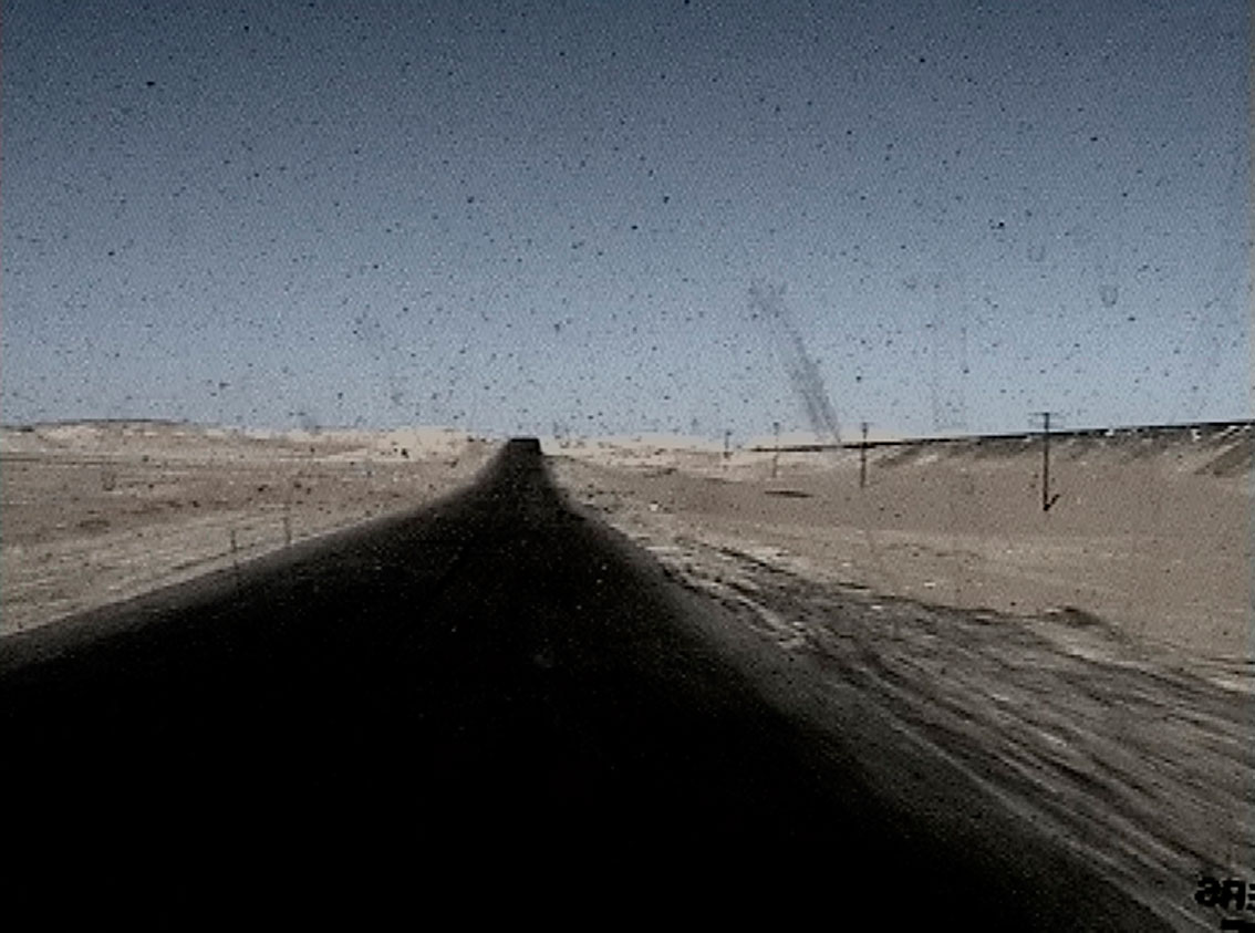 "Jessica Faiss, ""Desert"", 2001-2002, Video loop, 5 min."