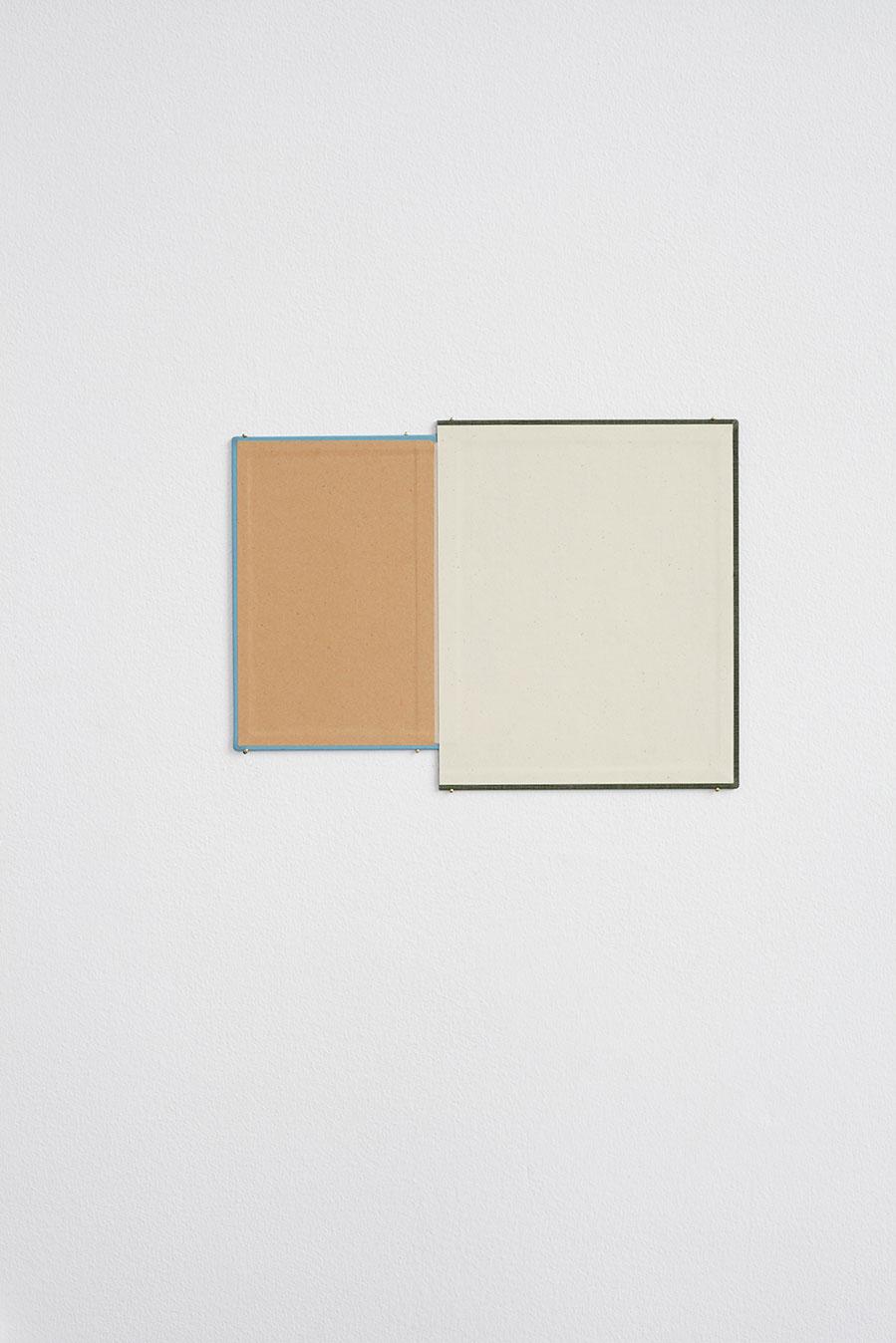 """Jakob Solgren, """"Handbok"""", 2016. Book covers, 35,5 x 26/22 cm"""