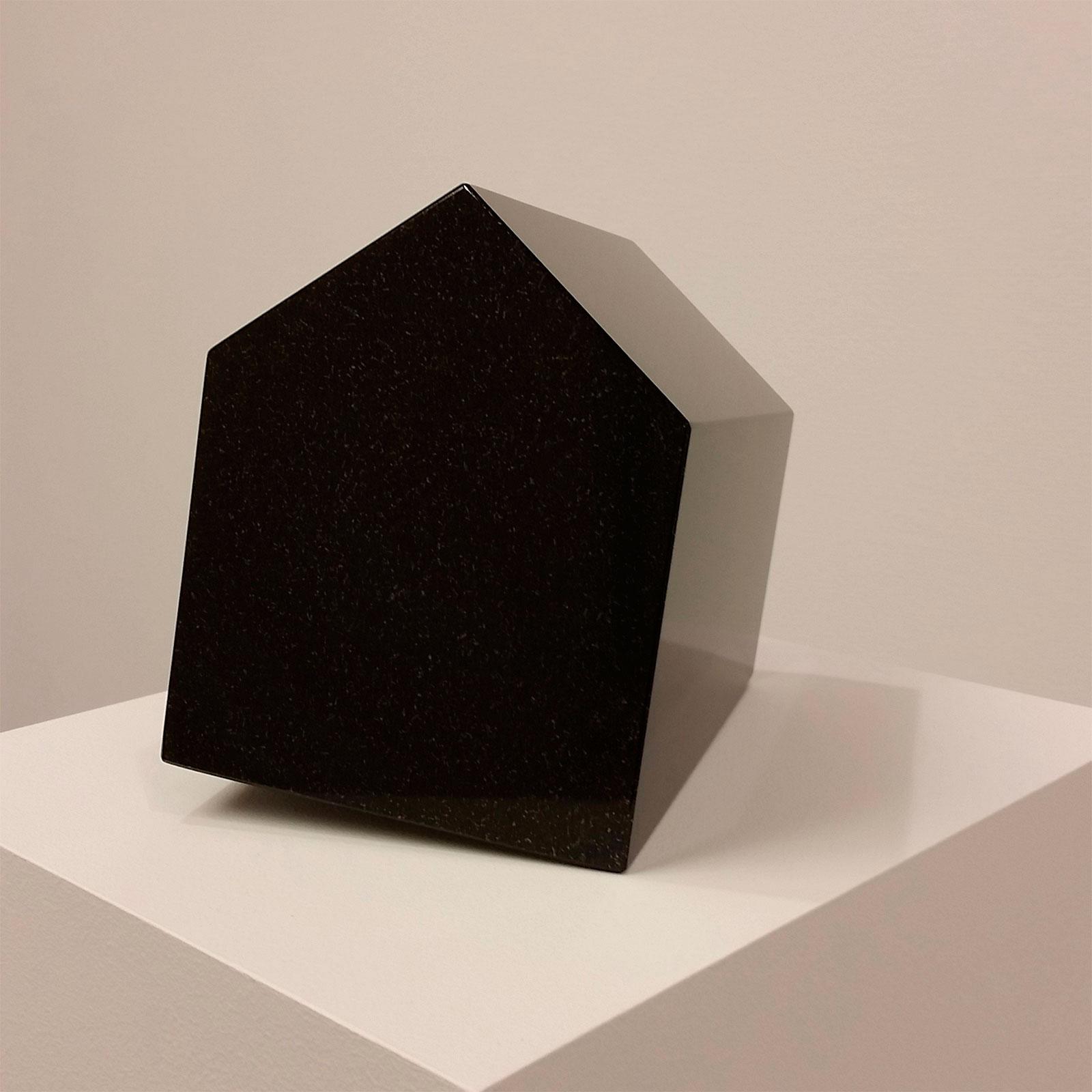 "Hillevi Berglund, ""Härbärge"" (Hostel), 2014. Diabase, 17 x 14 x 13cm"