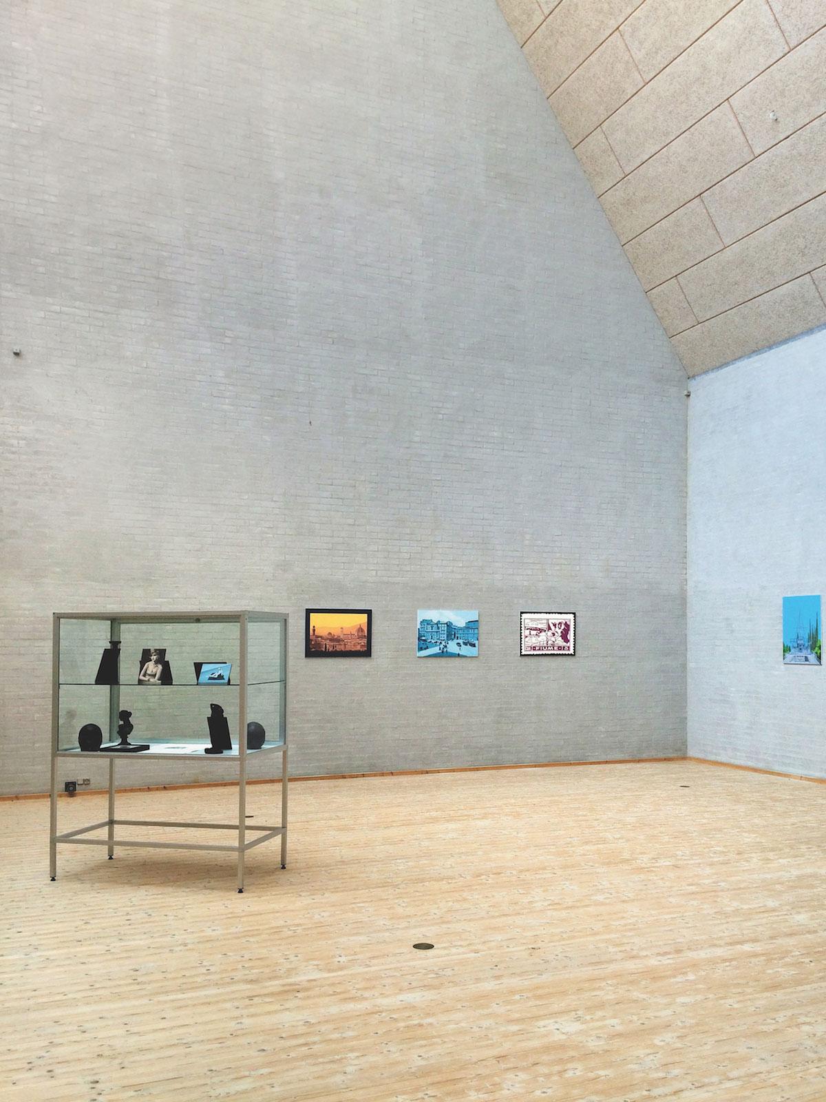 Johan Furåker, Installation view, Kunstcenter Aars 2016