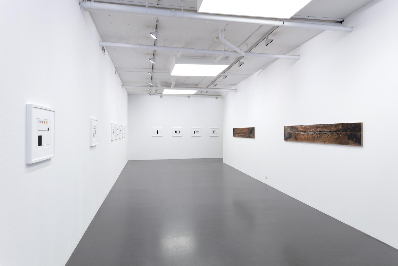 """Kristoffer Nilson, Installation view """"FLAG"""", 2017, Galleri Flach"""