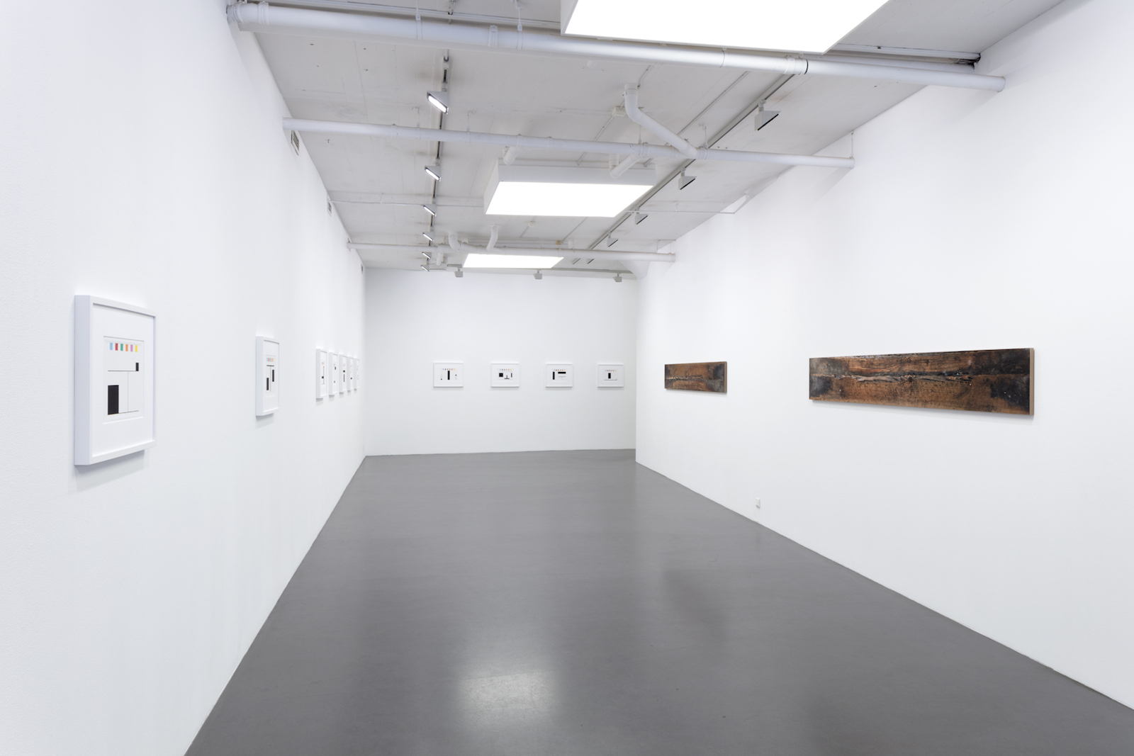 Kristoffer Nilson, Installation view FLAGG (FLAG), Galleri Flach 2017