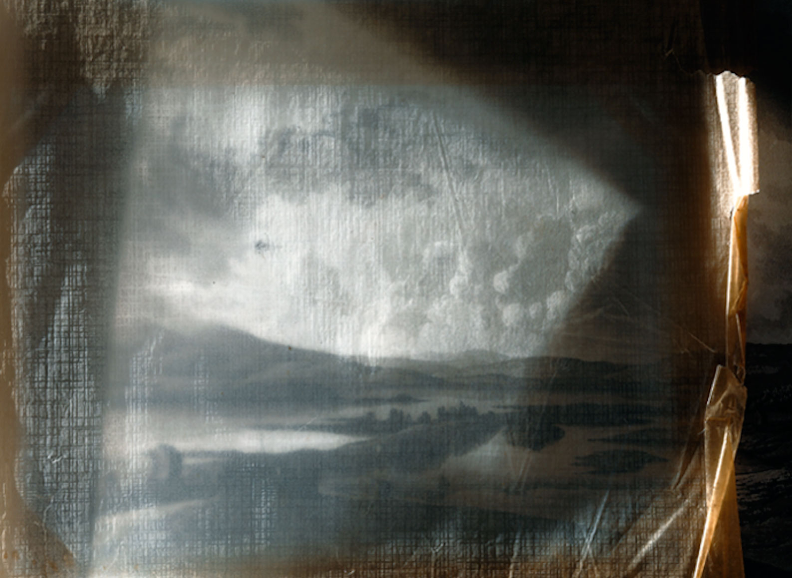 "Jorma Puranen, ""Up to Lappish Mountains"", 2015, digital c-print, diasec, wooden frame, 82 x 66 cm"