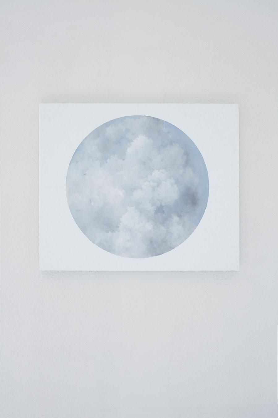 "Jakob Solgren, ""Punkt"", 2016. Oil on canvas, 55 x 46 cm"
