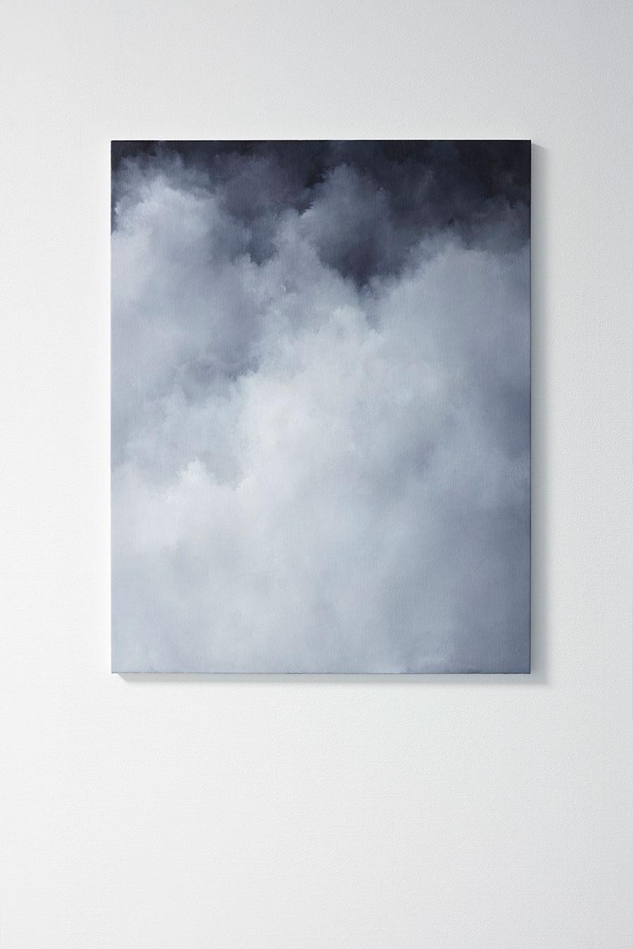 "Jakob Solgren, ""Ridå"", 2017. Oil on canvas, 92 x 76 cm"