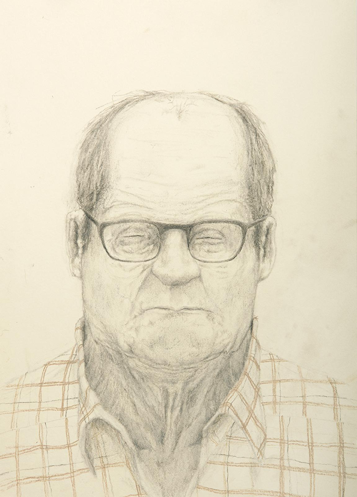 """Patrick Nilson, """"Shutter""""/ Slutare. 2014.Soft pastel on paper 42 X 30 cm  Två stycken"""