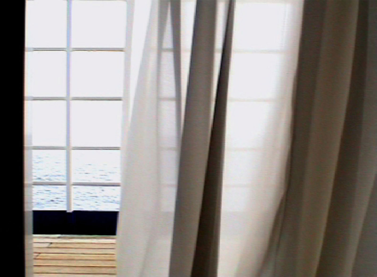 "Jessica Faiss, ""Voile"", 2008. Video loop 13,5 min"