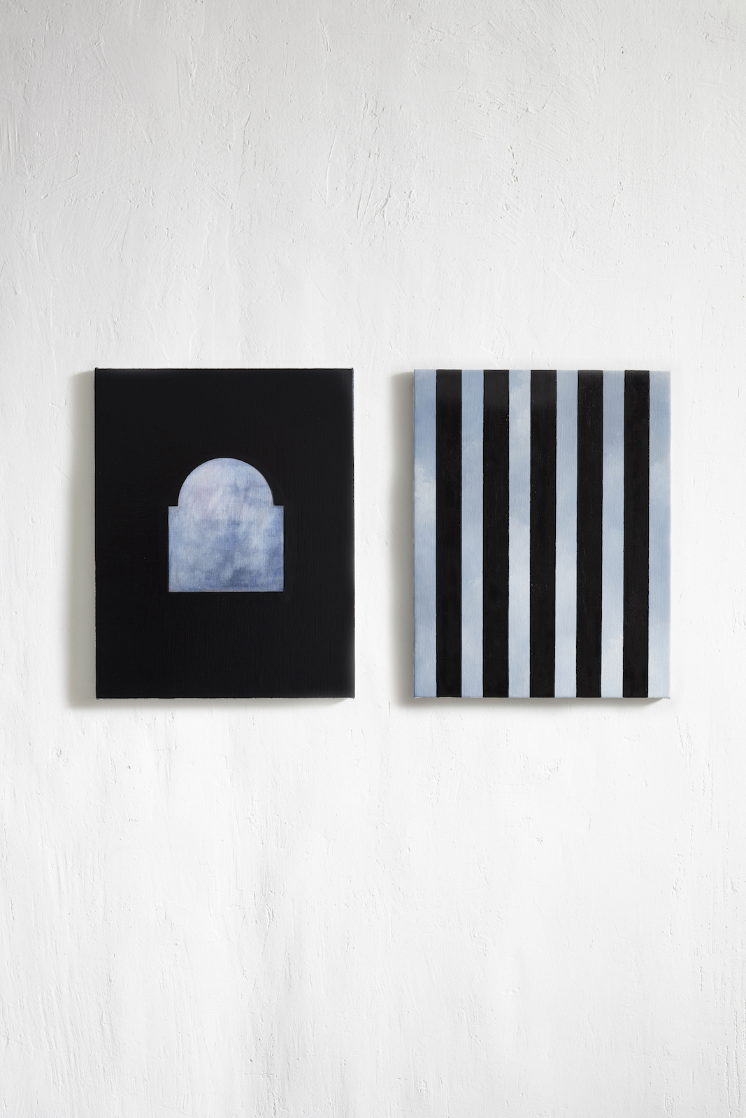 """Bina"", 2019, olja duk, 35x45 cm."
