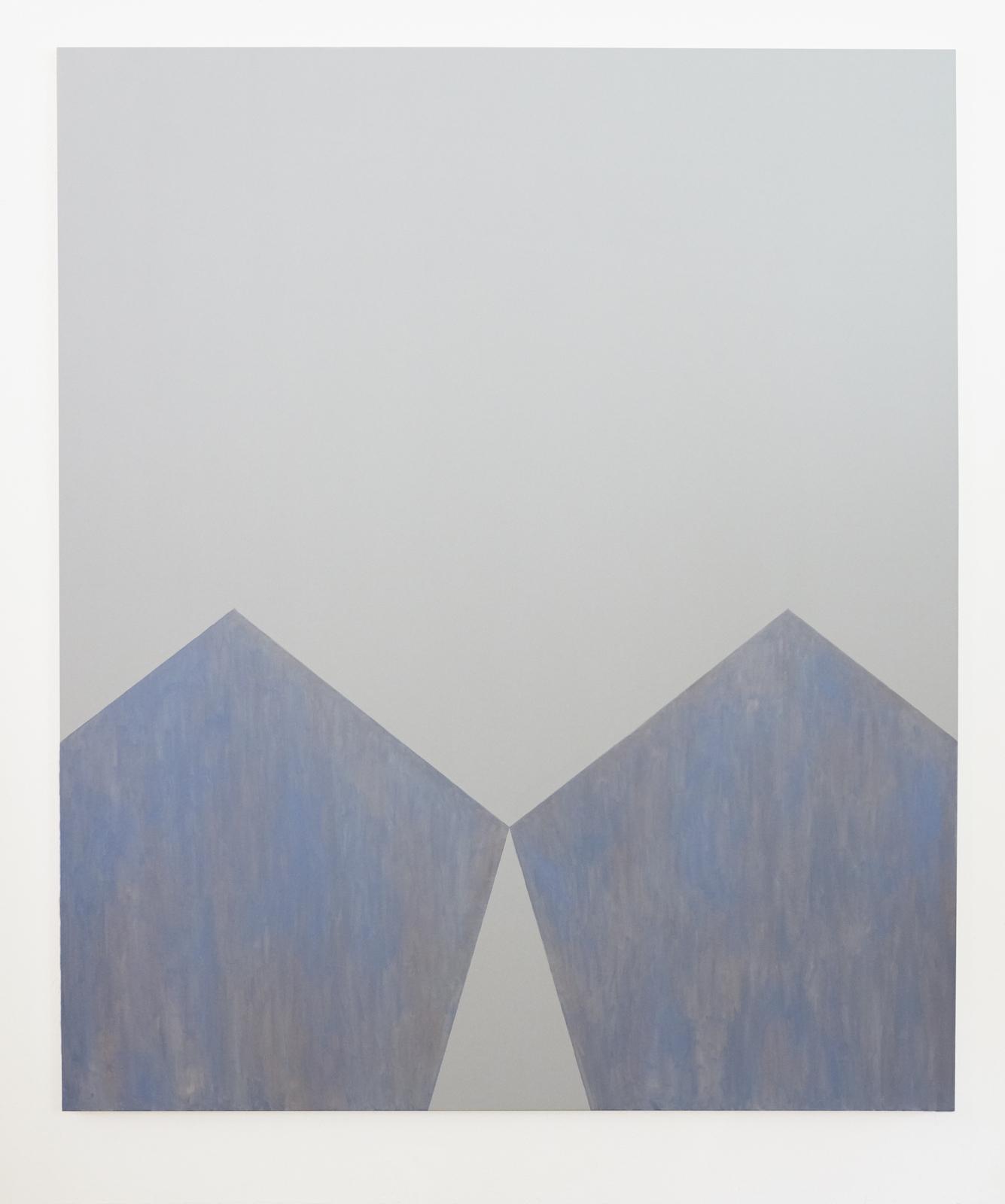 """Ur serien """"Esthers barn"""", 2018, flash och olja på duk, 195 x167 cm"""