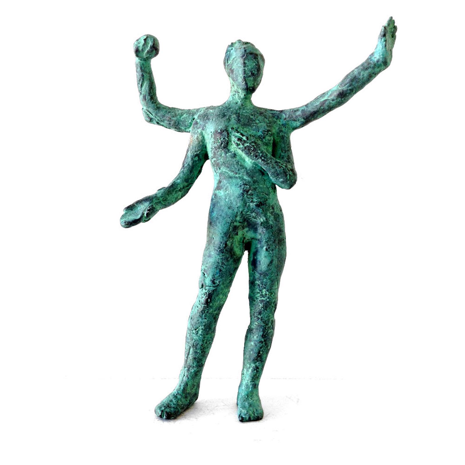 """Fredrik Wretman, """"Indra 4"""", 2014, bronze"""