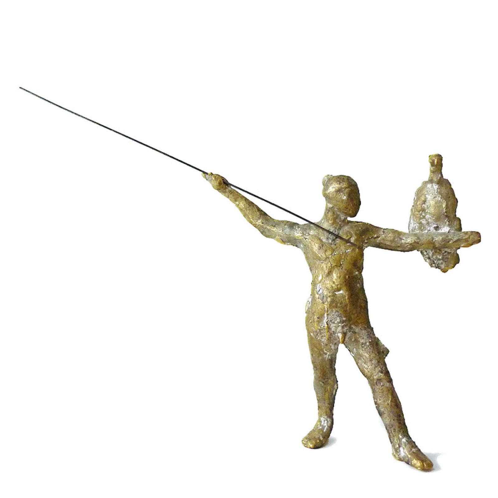 "Fredrik Wretman, ""Hunter"", 2014, bronze"