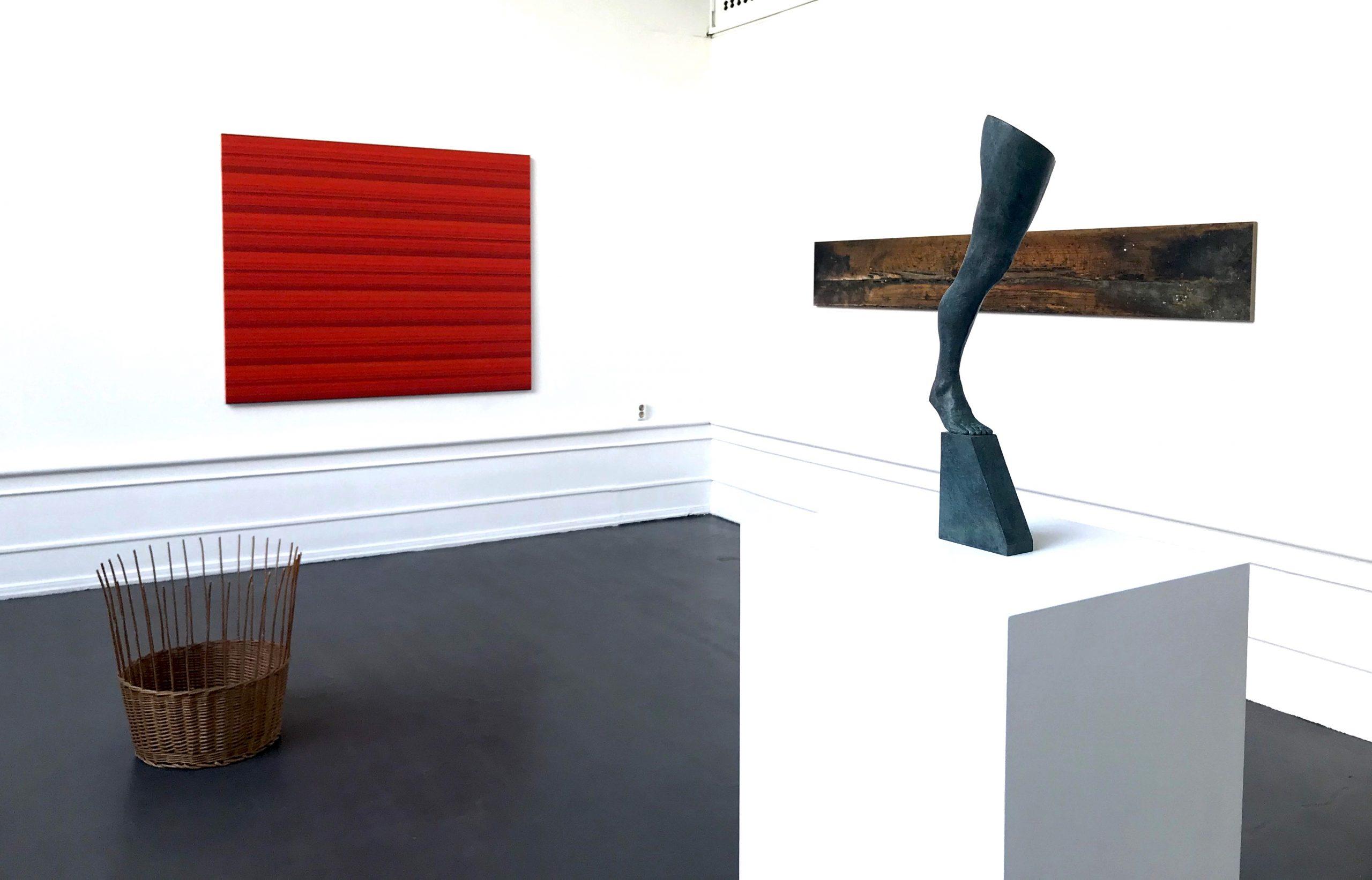 Ande och Materia / Mind and Matter, april 2020. Fredrik Wretman (Sculpture), Jakob Solgren (sculpture), Kristoffer Nilson (photography)