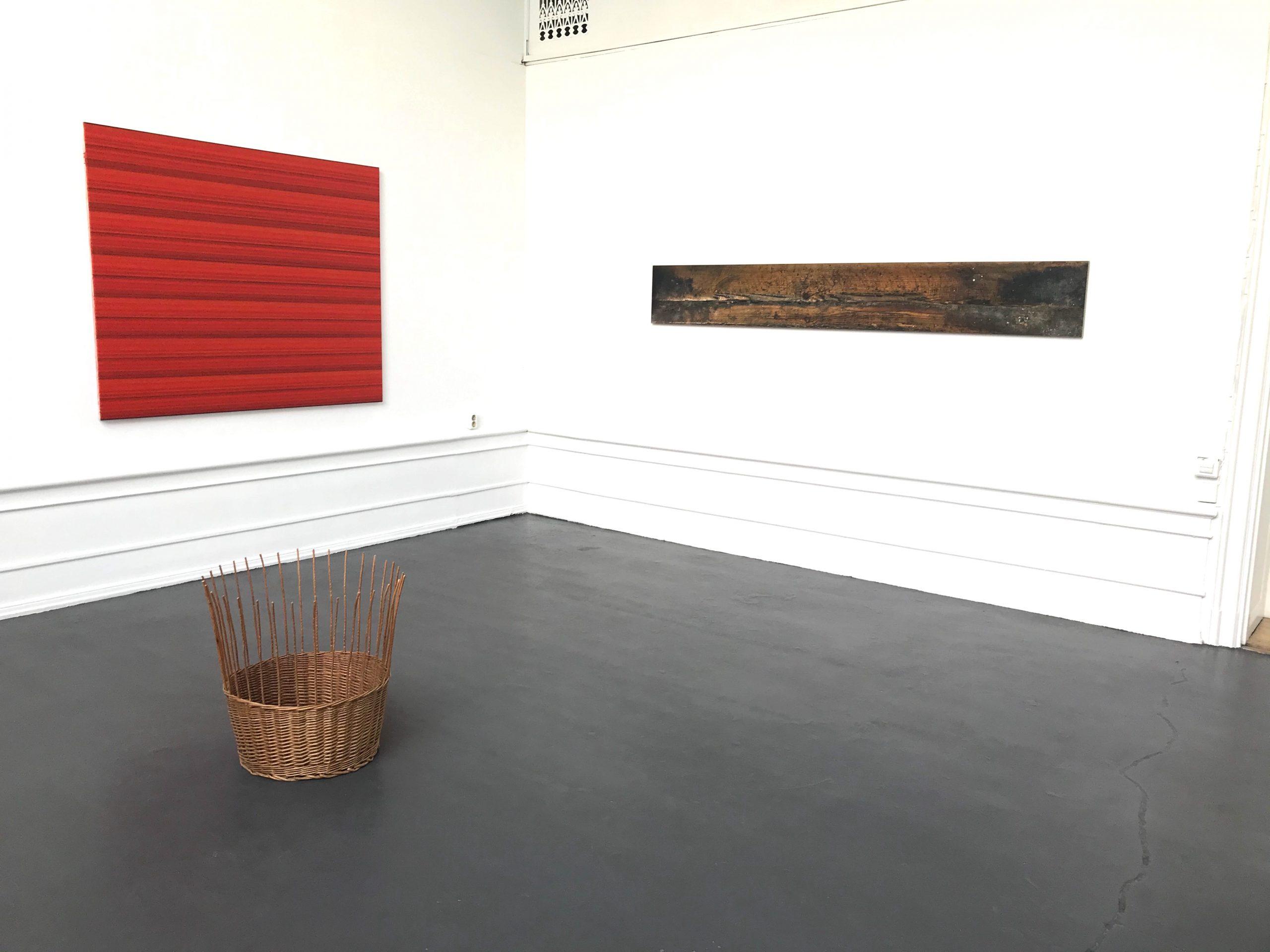Ande och Materia / Mind and Matter, april 2020. Jakob Solgren (Sculpture), Rickard Sollman  (Painting), Kristoffer Nilsson (photography)