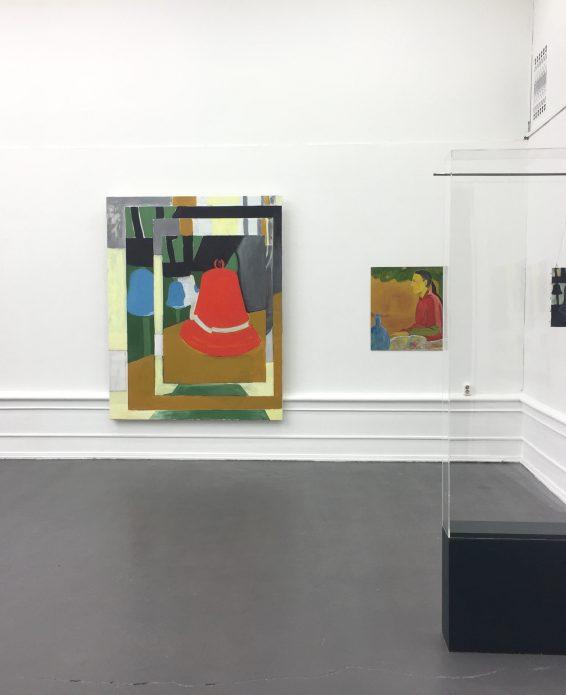"Lina Bjerneld, ""Steer / Veer"", Installation view"