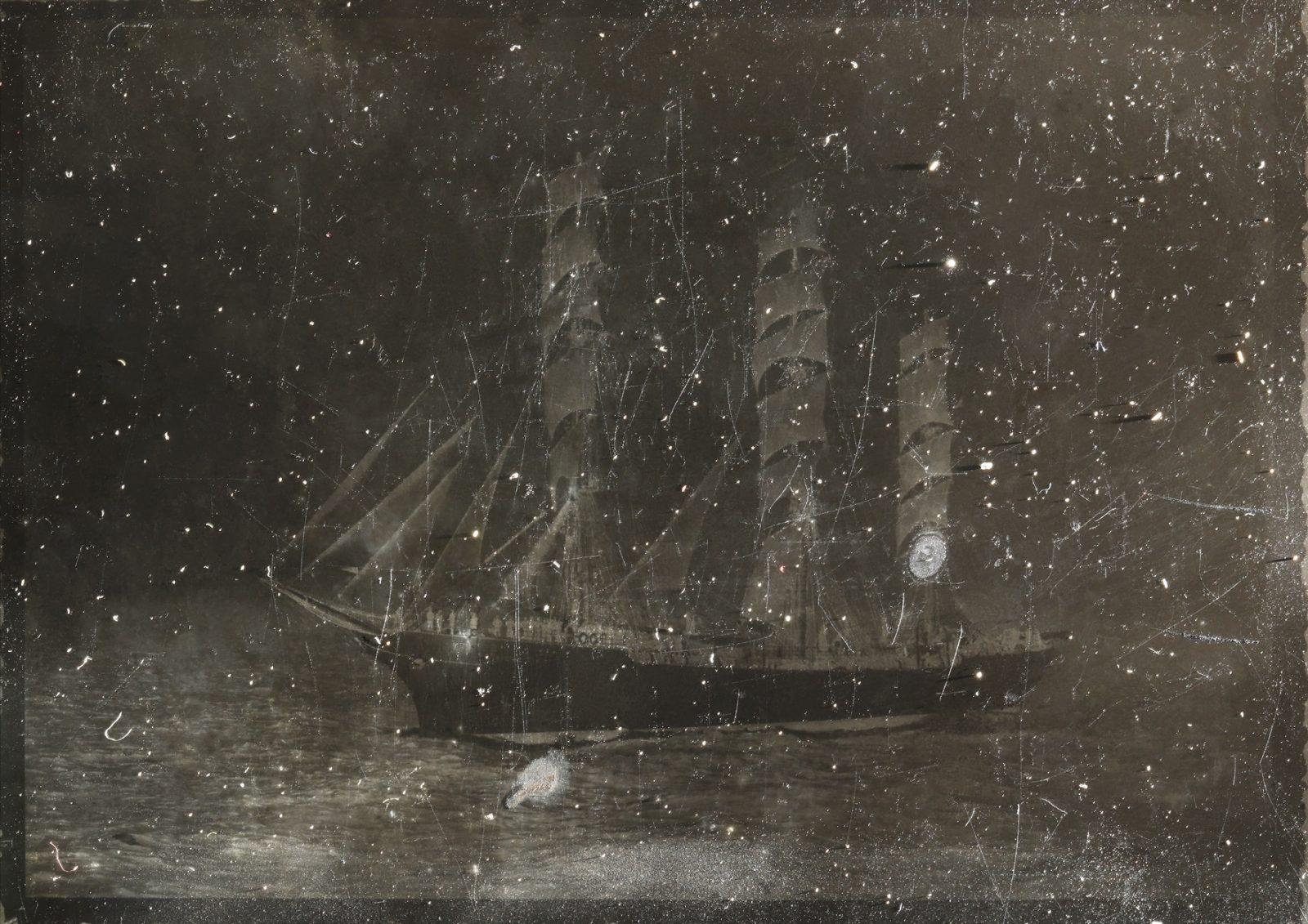 LOST IN STARS, 2017, 88x 123 cm, archival pigment print, frame