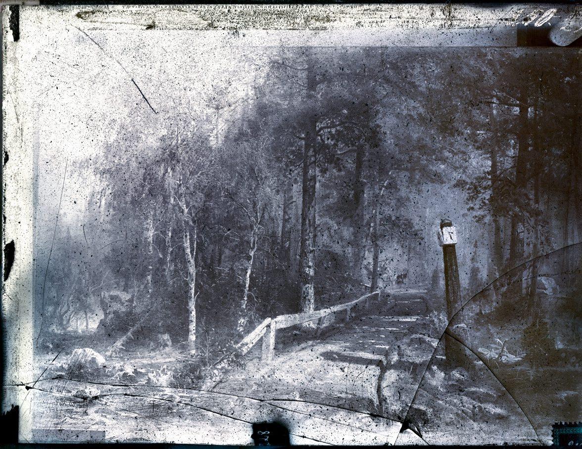 MAIL ROAD IN HÄME, 2013, 130 x 167 cm, archival pigment print, diasec, frame