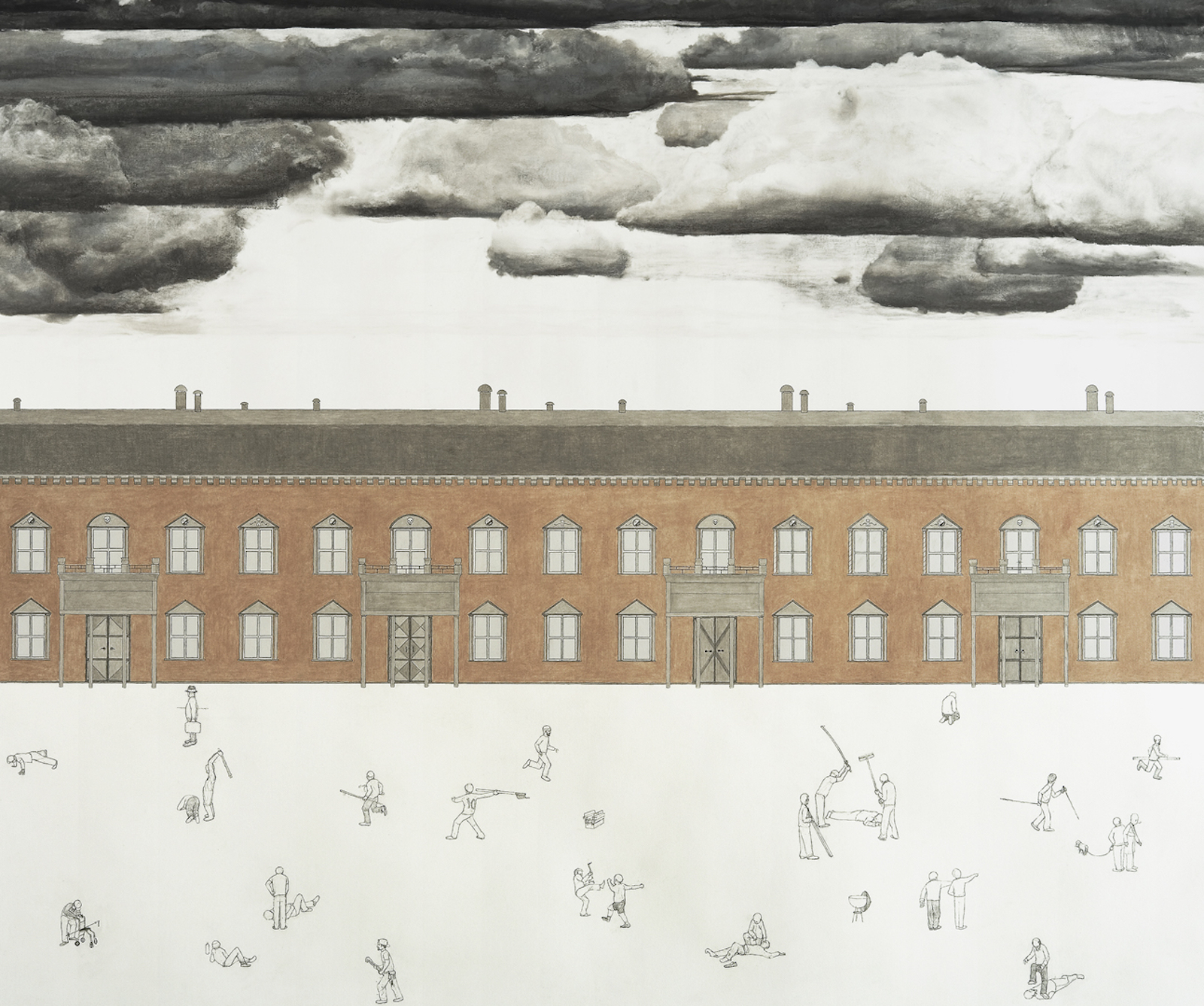 "Patrick Nilson, ""Minor Variations Endless Mansion"" 2007,
