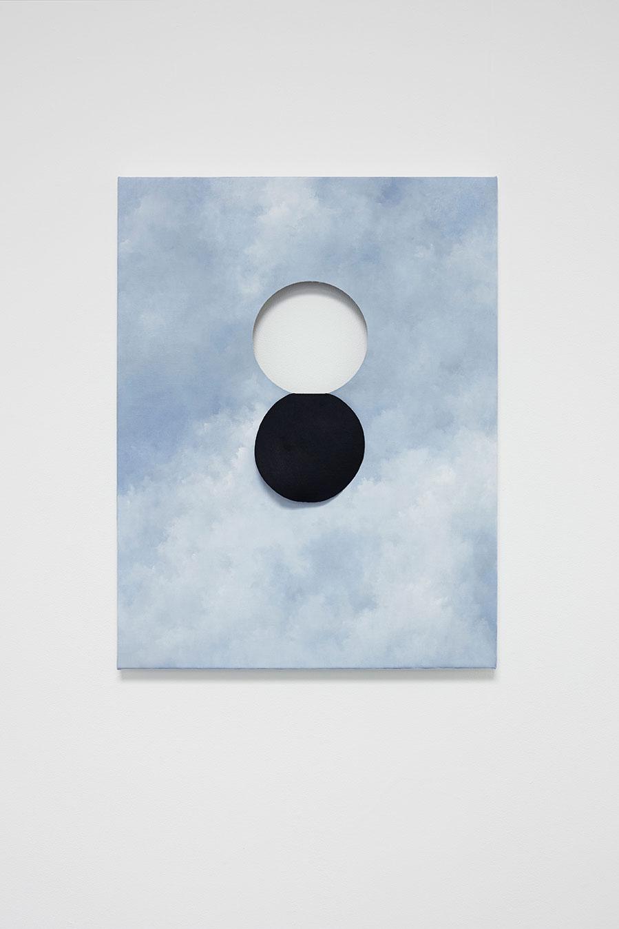 "Jakob Solgren, ""Överbrygga"", 2016.. Oil on canvas, 65 x 55 cm"