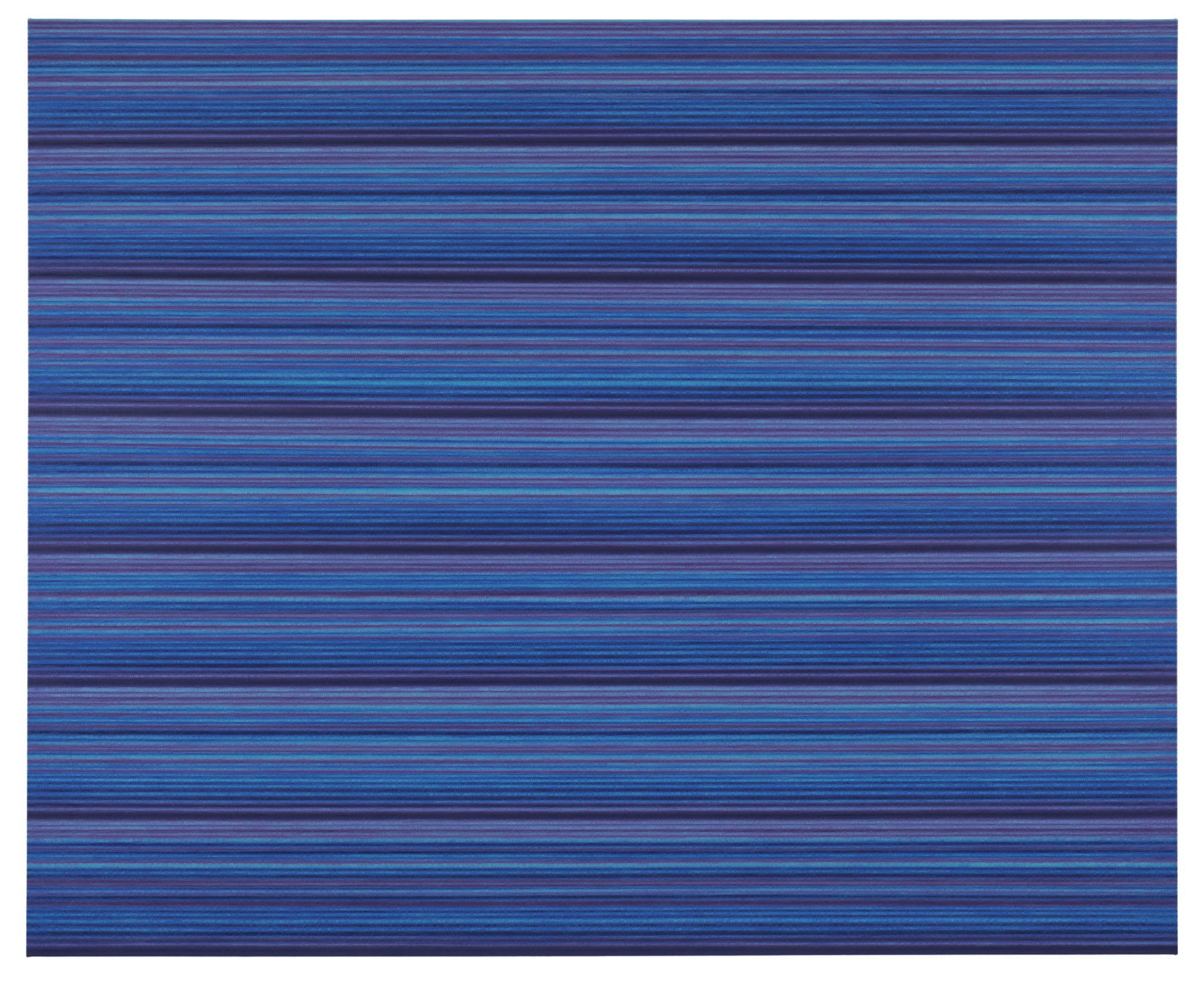 """Ande och Materia / Mind and Matter, april 2020. Rickard Sollman, """"Syskonet (blå)"""", 2013, oil on canvas"""