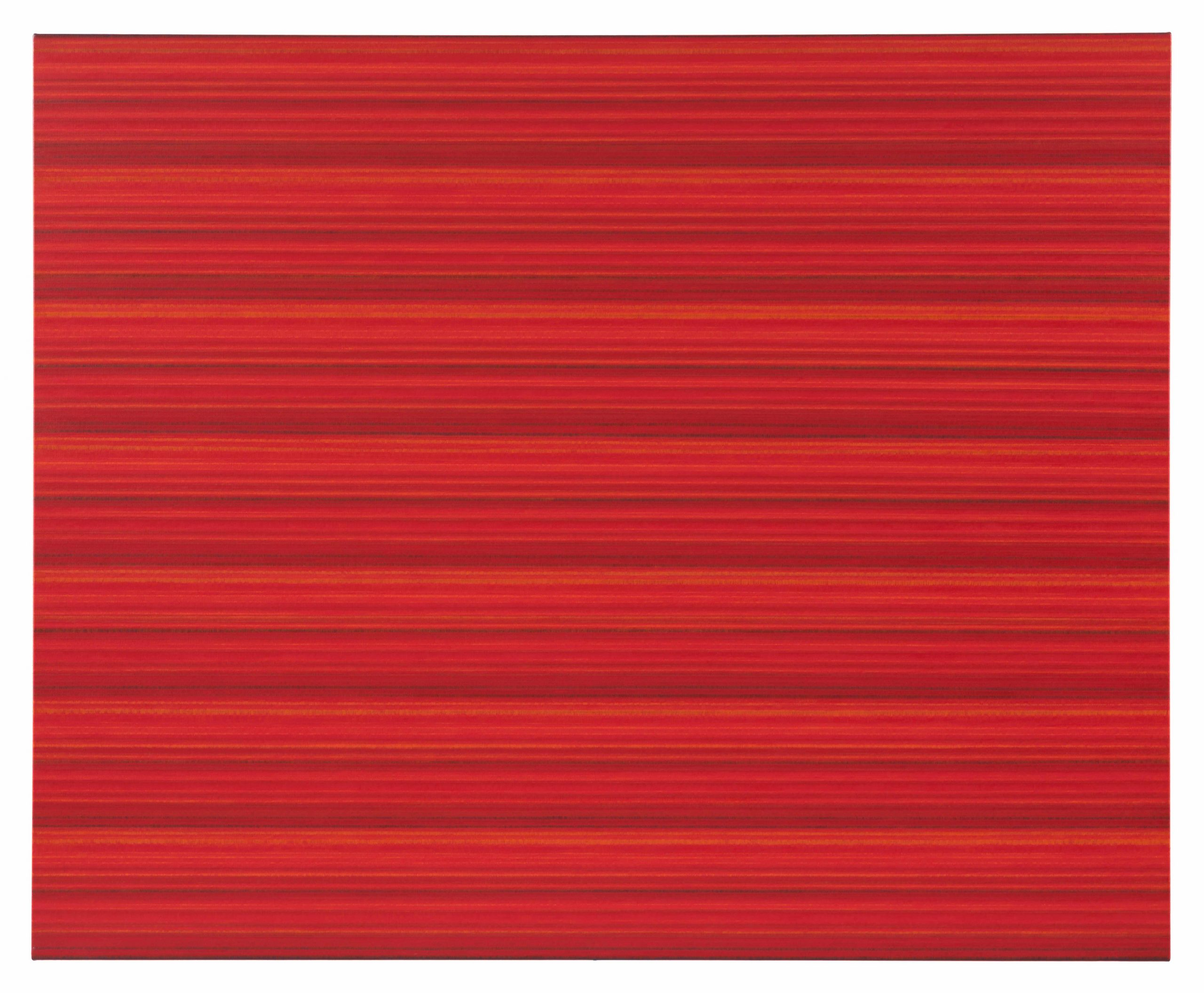 """Ande och Materia / Mind and Matter, april 2020. Rickard Sollman, """"Syskonet (röd)"""", 2013, oil on canvas"""