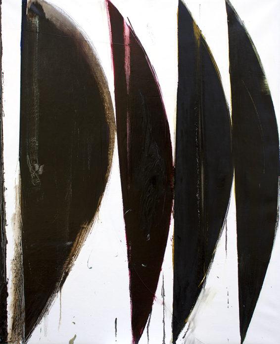 """Sub XII"", 2019, oil on canvas, 114 x 94 cm."